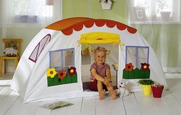 Домики и Палатки