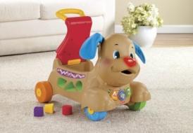 Музыкальный щенок 3 в 1: сортер-ходунок-каталка