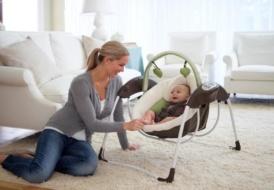 Как правильно приучить ребенка к электрокачелям