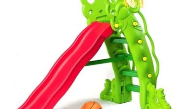 Горка Горошина с баскетбольным кольцом