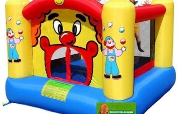Надувной батут «Веселый Клоун» HAPPY HOP