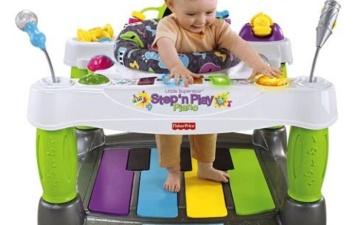 Игровой центр Fisher Price Суперзвезда — Шагай и играй на пианино