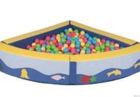 Угловой сухой бассейн ( 800 шт шариков )