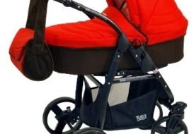 Детская коляска Tutis Zippy Trio  люлька и прогулочный блок