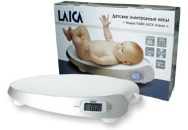 Весы электронные Laica с ручкой для переноски.