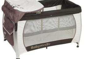 Манеж-кровать babymoov