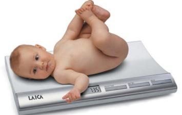 Электронные весы для новорожденных Laica. Я расту! PS3001