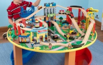 Деревянная железная дорога «Наш город»