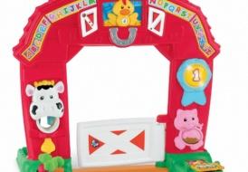 Двухсторонний музыкальный Домик-арка «Ферма» Fisher Price