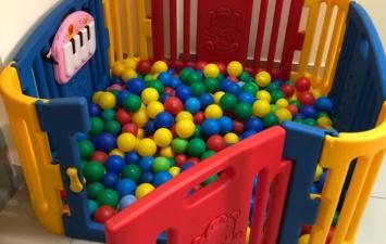 Детская площадка Edu-Play Игровой манеж с шариками(300 шт.)
