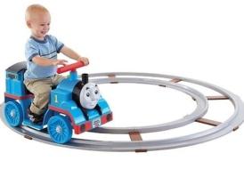 Поезд «ТОМАС»-электромобиль на аккумуляторе