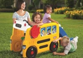 Автобус с горкой» Little Tikes»