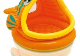 Сухой бассейн с шариками «Ленивая рыбка» (300 шариков)