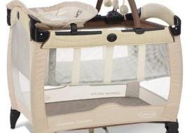 Детский манеж-кровать GRACO Contour Electra Delux