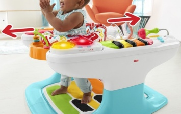 Музыкальный центр Fisher-Price 4-in-1 Step 'n Play Piano