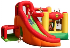 Надувной батут Happy Hop Игровой комплекс 9206