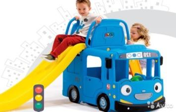 Игровая площадка автобус «Тайо» Ya Ya Toy