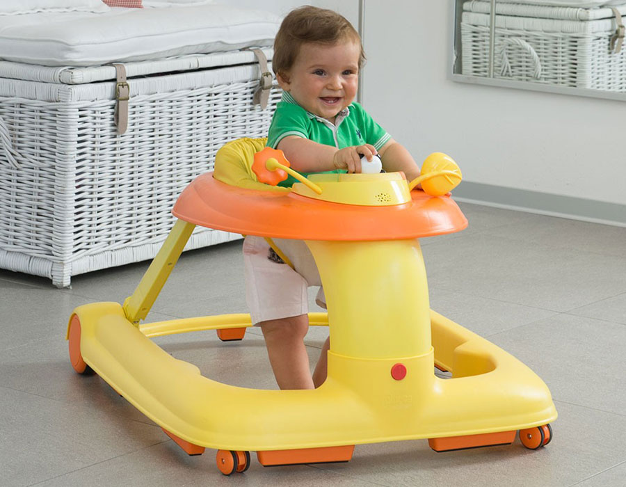 Каталка-ходунки Chicco 123 Baby Walker