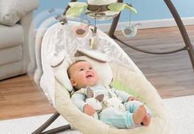 Польза электрического шезлонга-качели для новорожденных